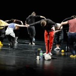 National Dance Company Wales in rehearsal at Theatr Clwyd, Mold, April 2013.